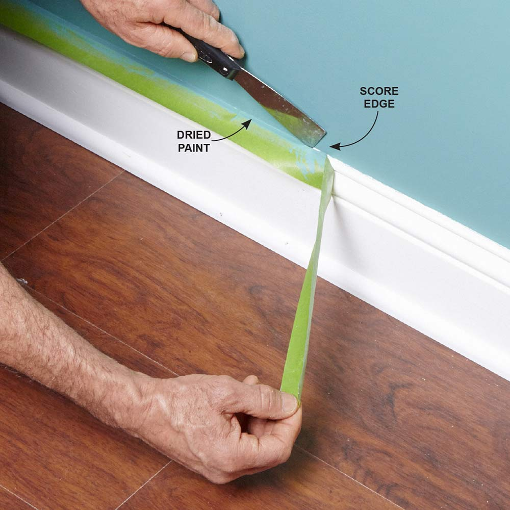painters tape painting tricks Painting Tips for Beginners