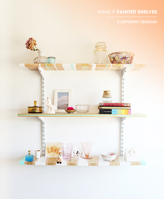 DIY shelving ideas shelves shelf the handy mano manomano easy simple painted