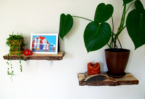 DIY shelving ideas shelves shelf the handy mano manomano log wood slice shelf rustic