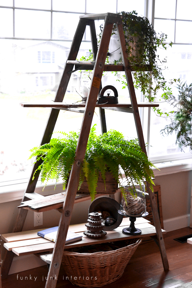 DIY shelving ideas shelves shelf the handy mano manomano ladder shelf simple easy rustic