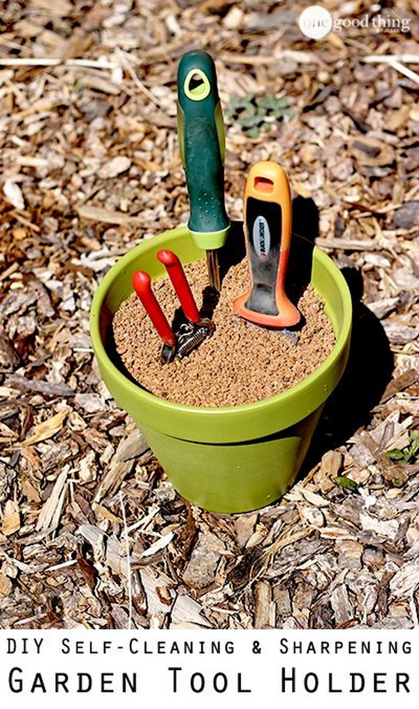 simple and cheap gardening tricks The handy mano manomano tools in nplantpot plant pot sand
