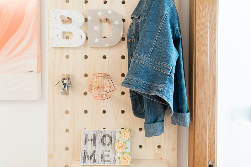 manomano mano mano the handy diy do it yourself projects build make do pegboard jacket letter